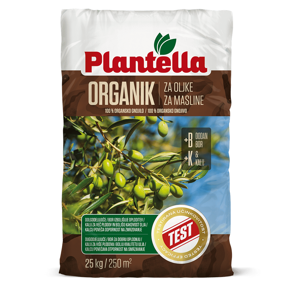 Plantella Organik za oljke 25 kg